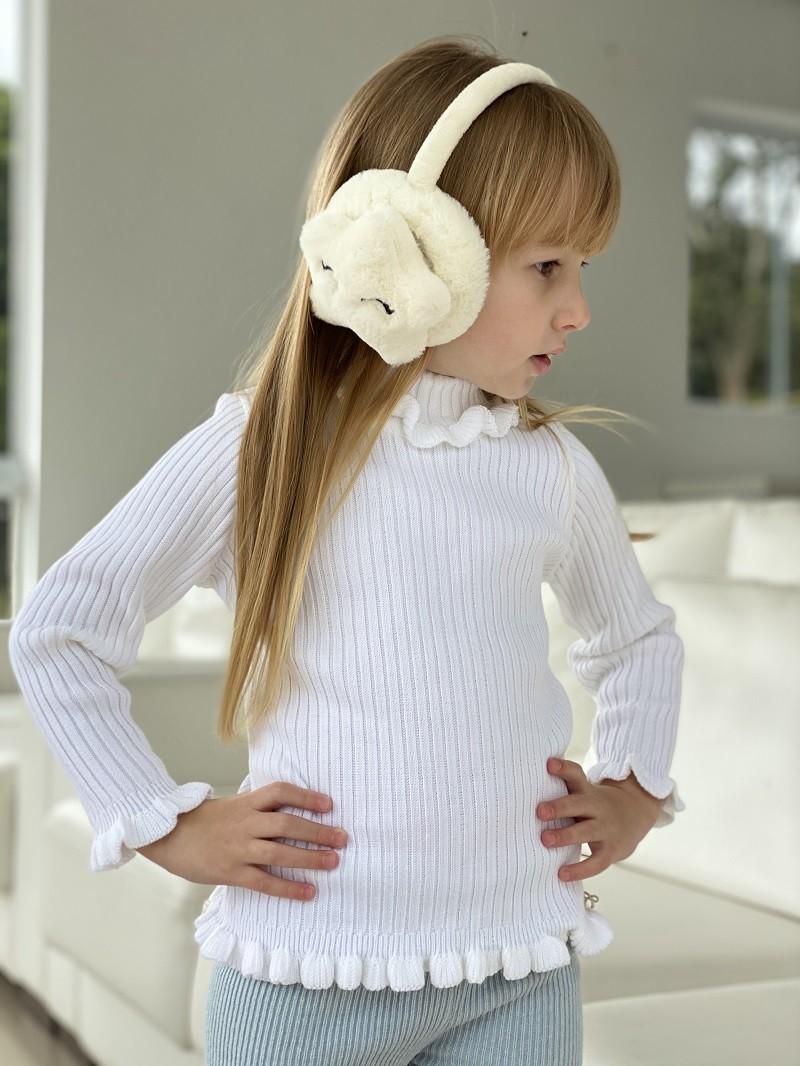 Blusa Tricot Infantil Menina Maria Kids