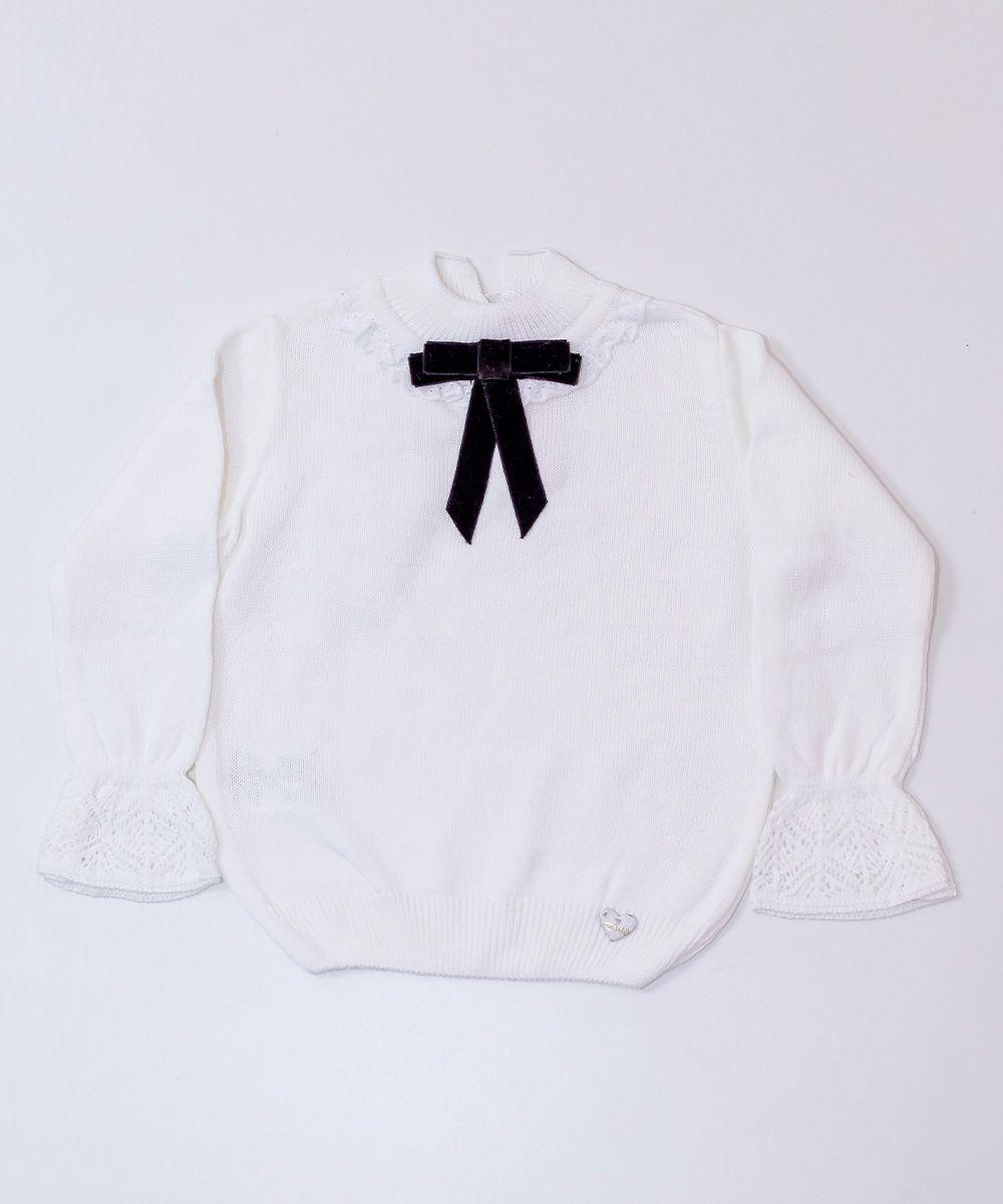 Blusa Tricot Infantil Menina Mia