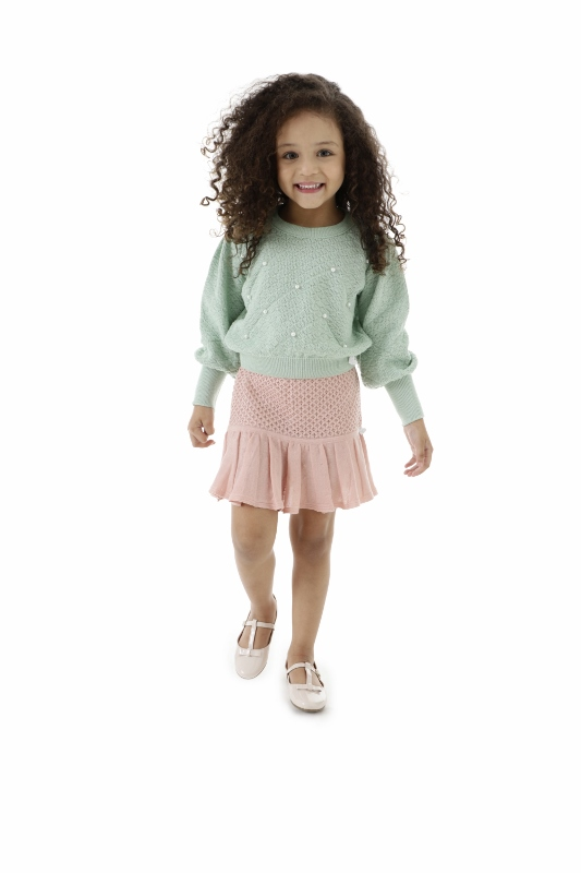 Blusa Tricot Infantil Menina Mirian