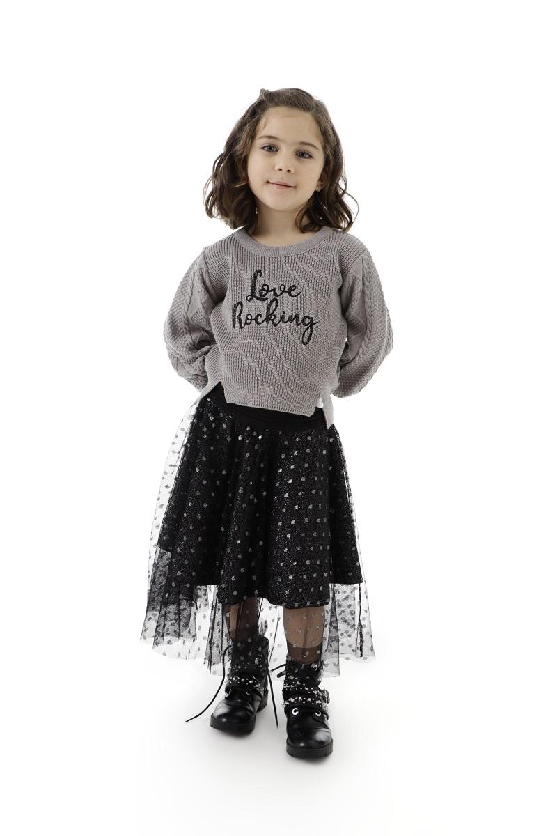 Blusa Tricot Infantil Menina Olivia