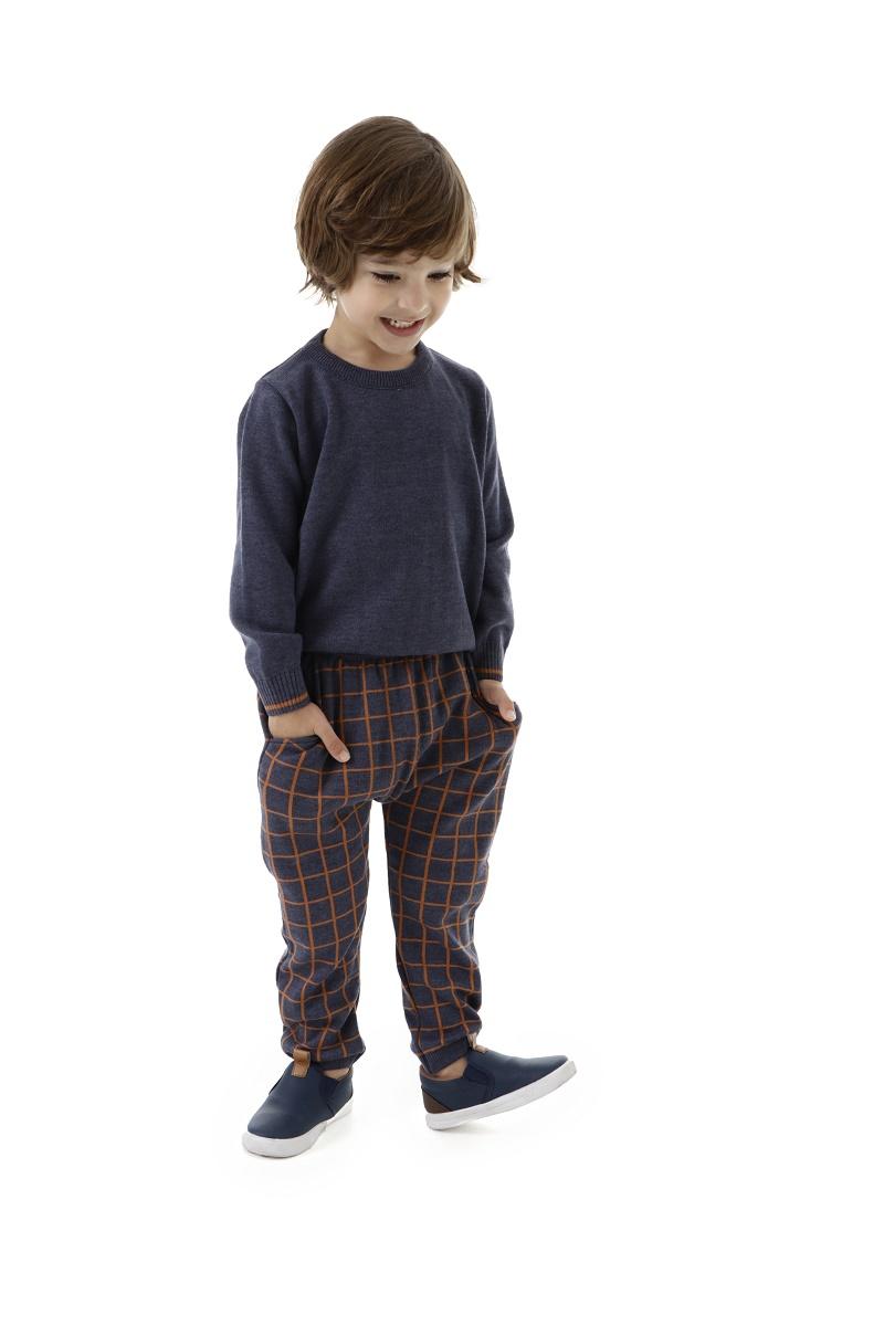 Blusa Tricot Infantil Menino Benito