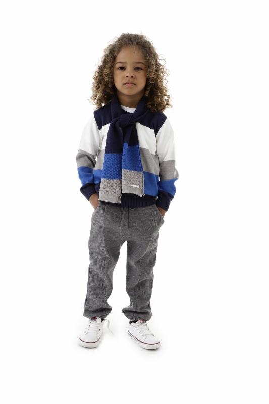Blusa Tricot Infantil Menino Caua