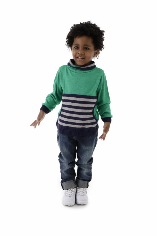 Blusa Tricot Infantil Menino Erick