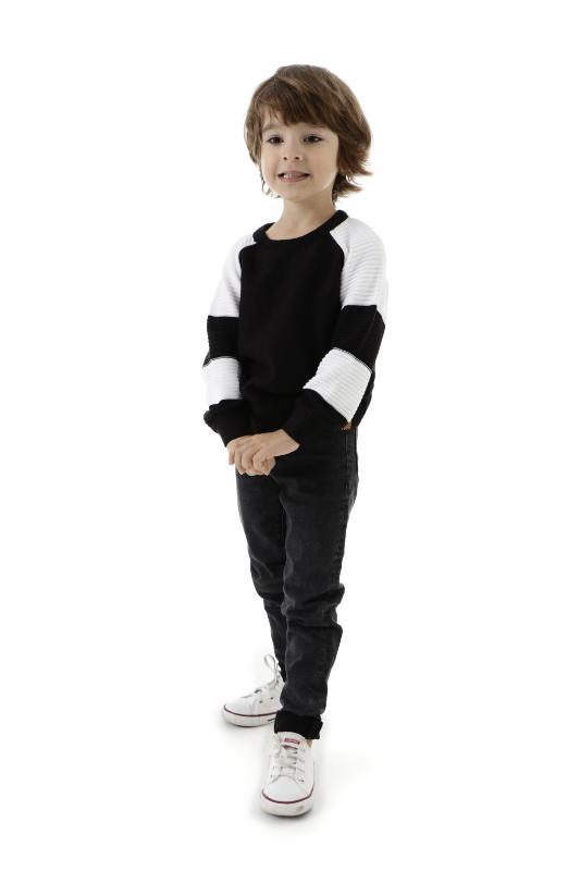 Blusa Tricot Infantil Menino Ethan