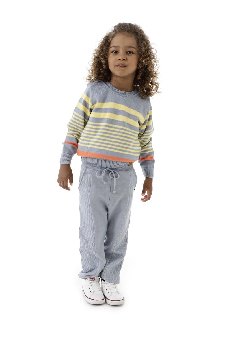 Blusa Tricot Infantil Menino Liam