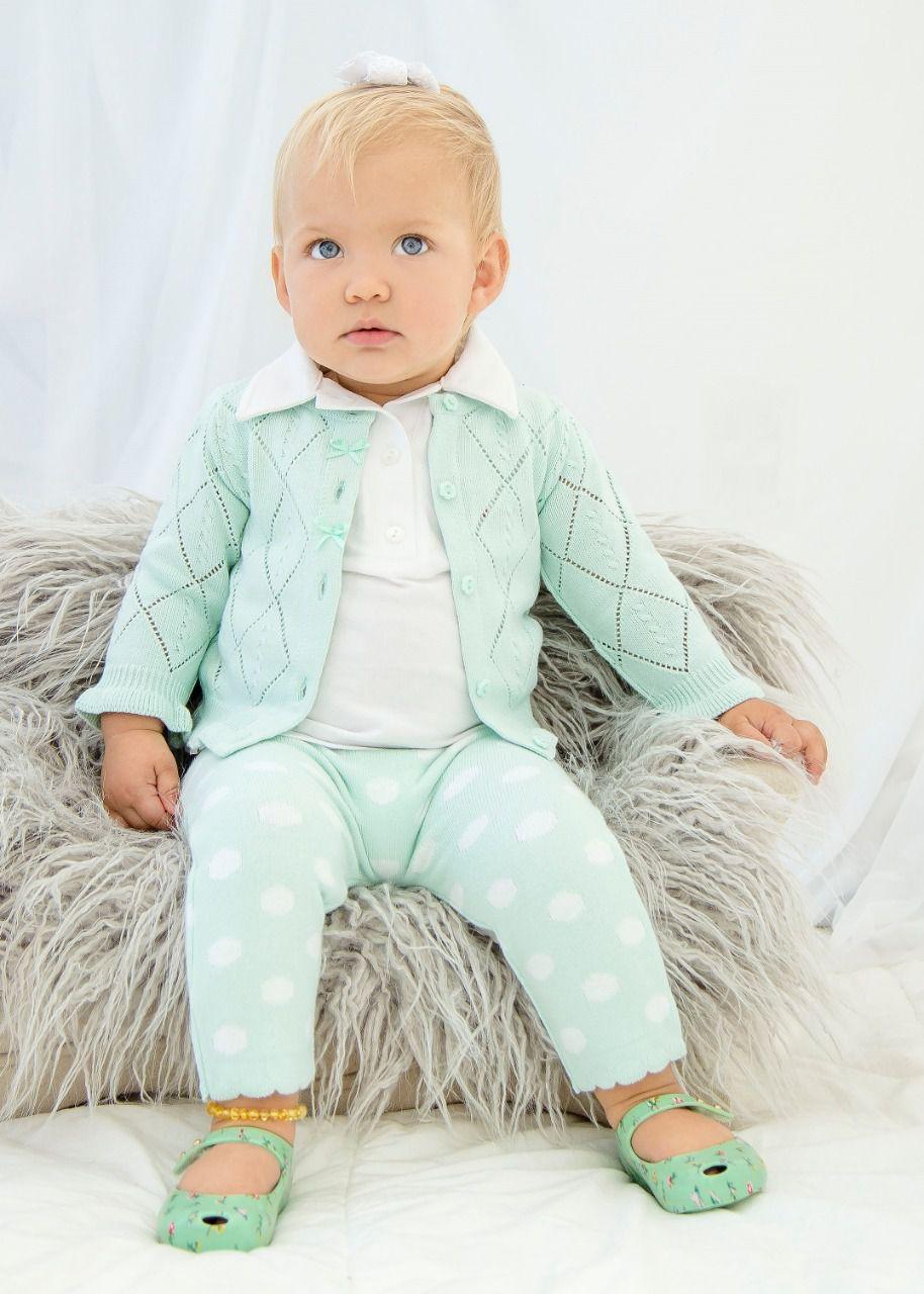 Calça Poá Baby