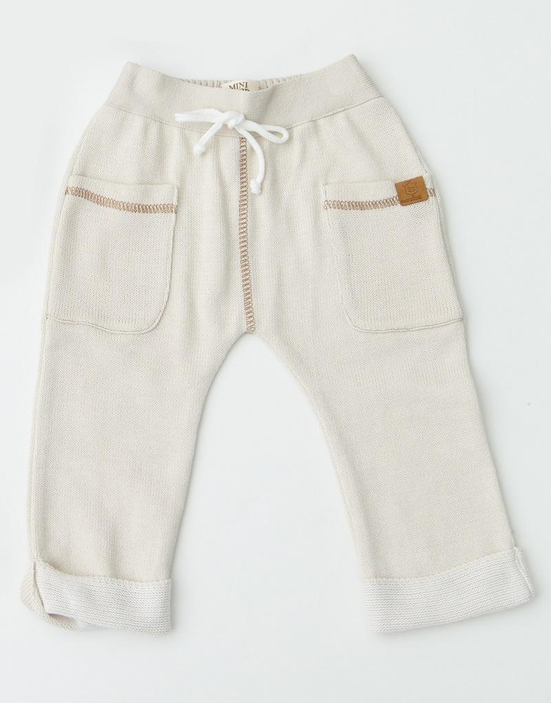 Calça Tricot Infantil Bebê Menino Scott