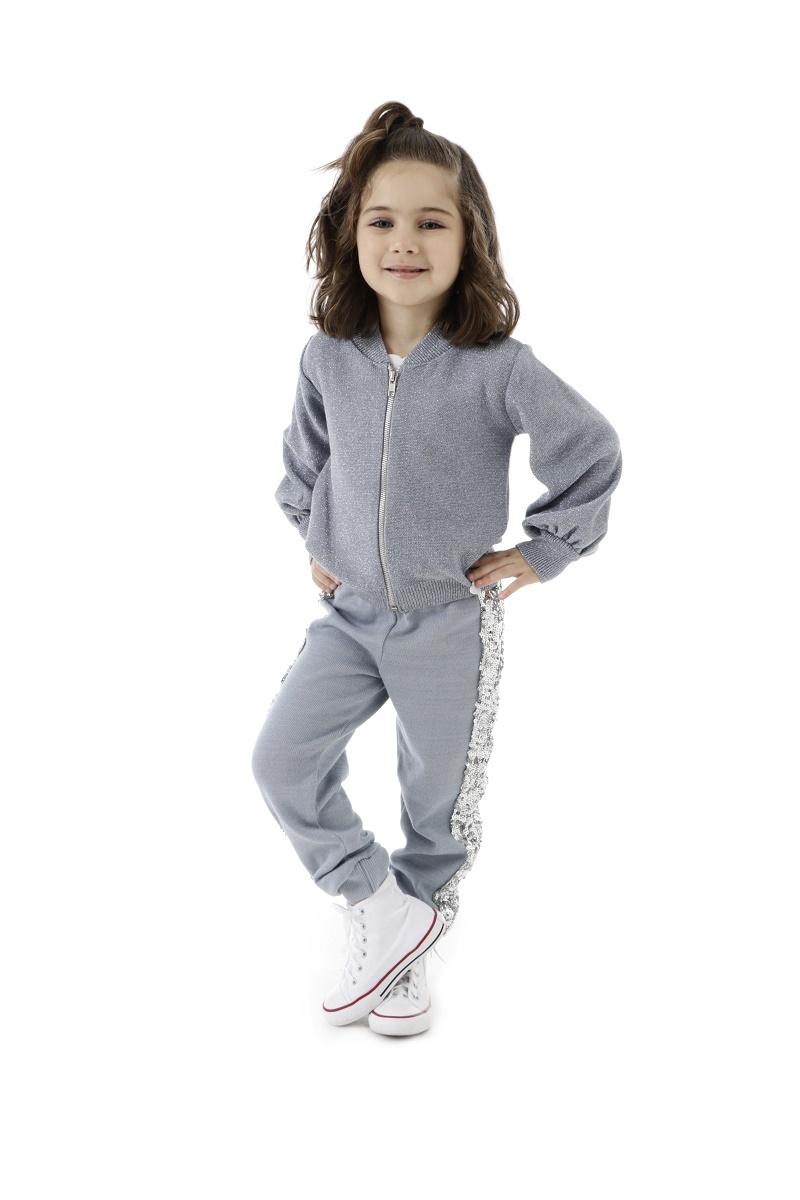 Calça Tricot Infantil Menina Maura