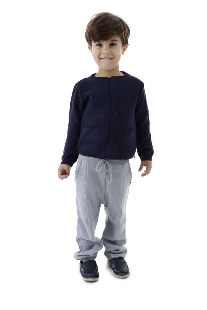 Calça Tricot Infantil Menino Nando