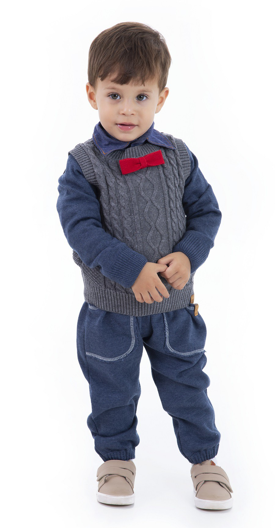Calça Tricot Infantil Menino Thomas