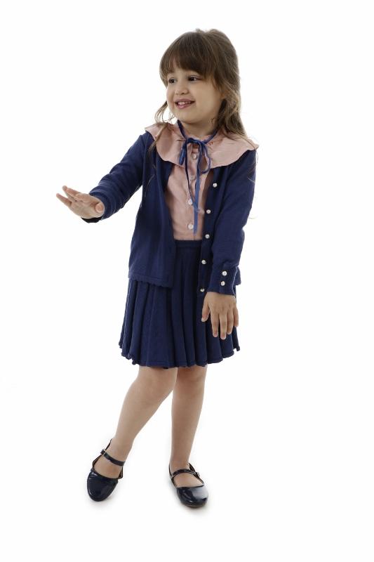 Camisa Tricot Infantil Menina Mirian