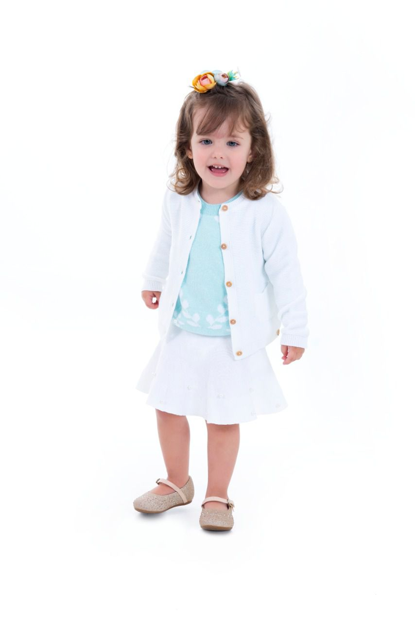 Cardigan Lícia Kids  - Mini Lady | Mini Lord