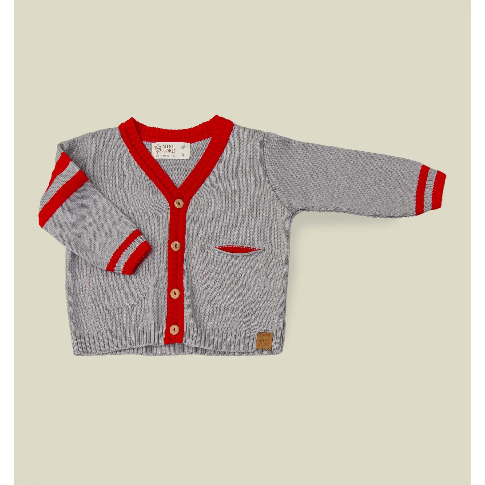Casaco Tricot Infantil Bebê Menino Ricardo