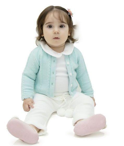 Conjunto Infantil Bebê Menina Emilia