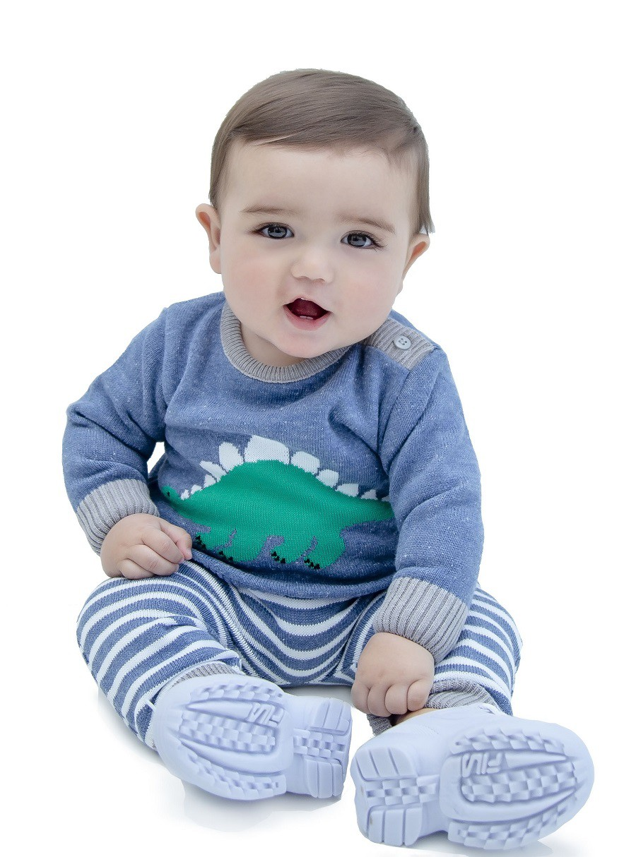 Conjunto Tricot Baby Menino Eric