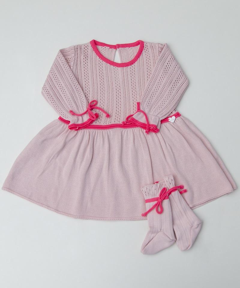 Conjunto Tricot Bebê Menina Eliza