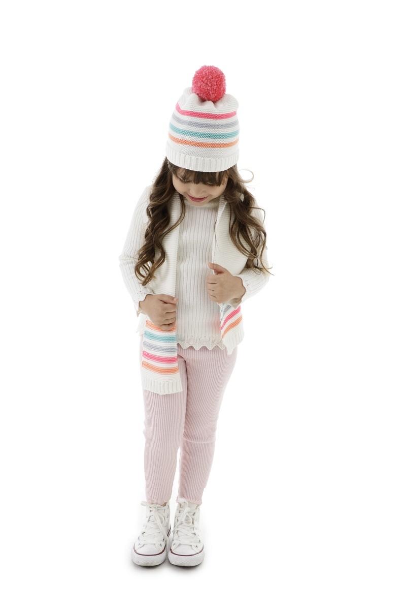 Conjunto Tricot Infantil Menina Lara