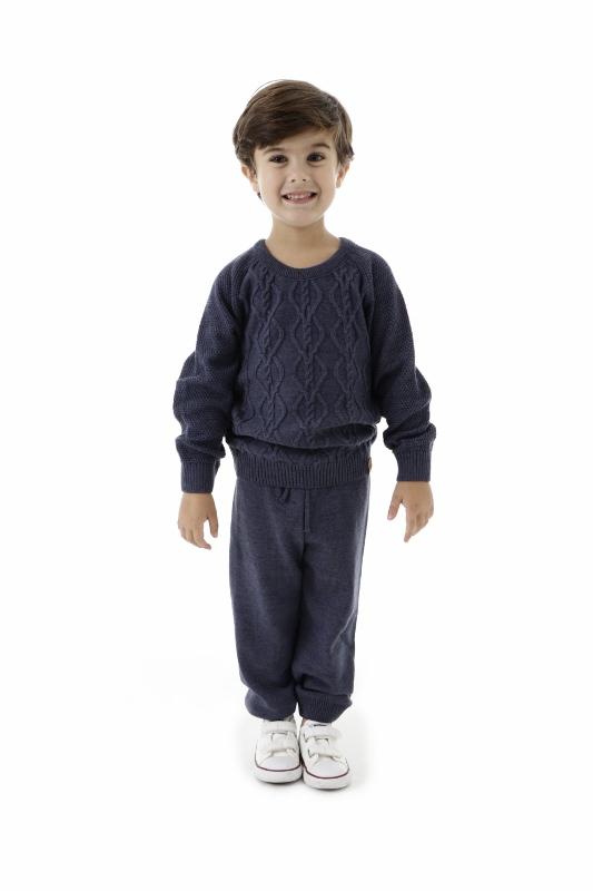 Conjunto Tricot Infantil Menino Emanuel