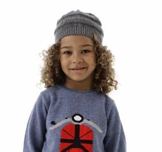 Gorro Tricot Infantil Menino Nico