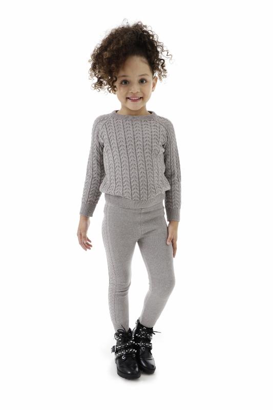 Look Tricot Infantil Menina Mari