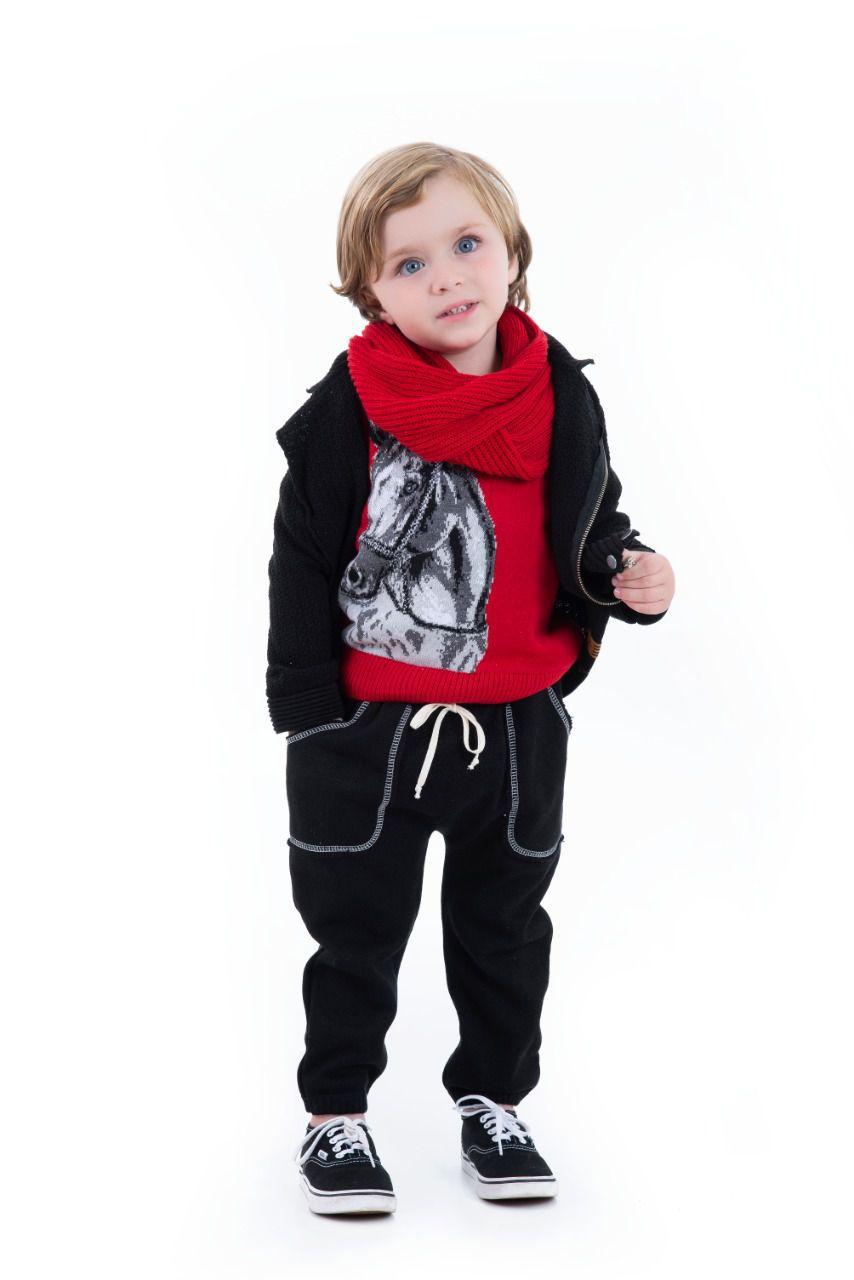 Sweater Tricot Infantil Menino Henry