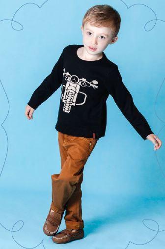 Sweater Moto Kids