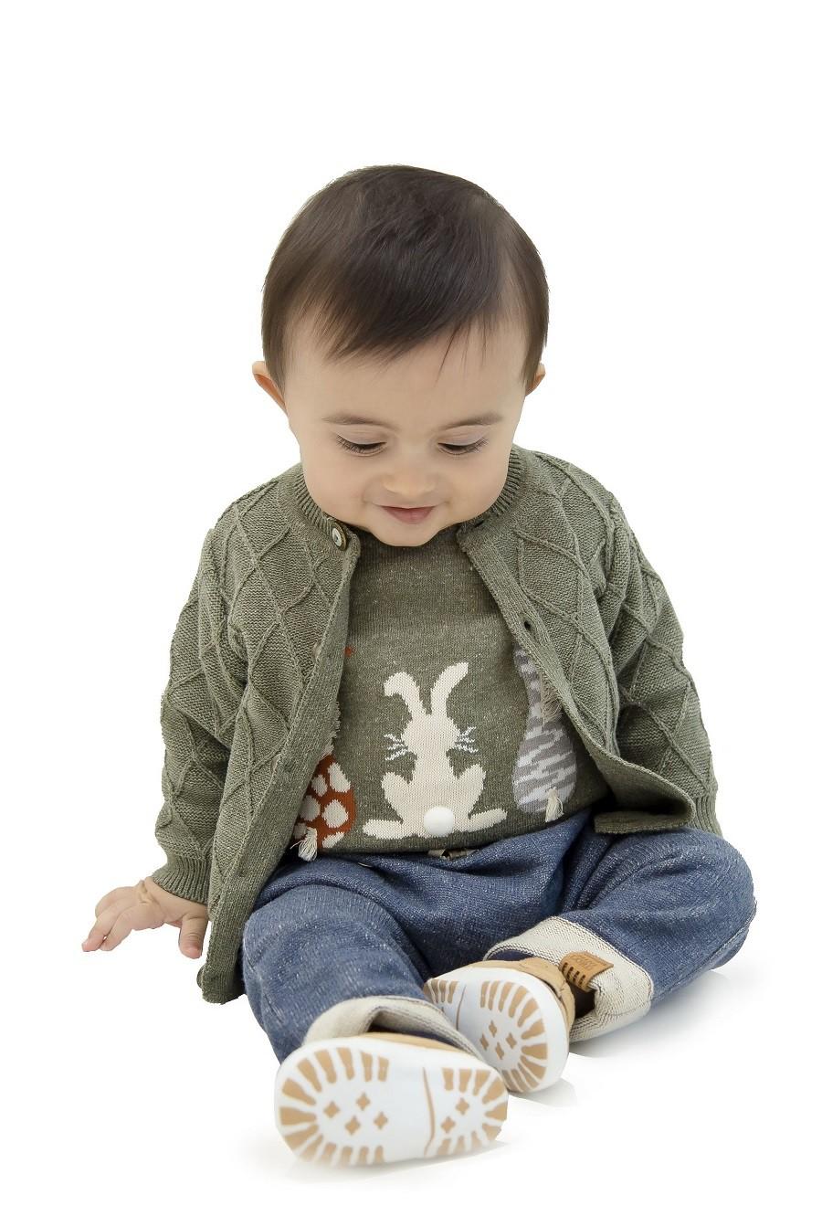 Sweater Tricot Bebe Menino Jacob