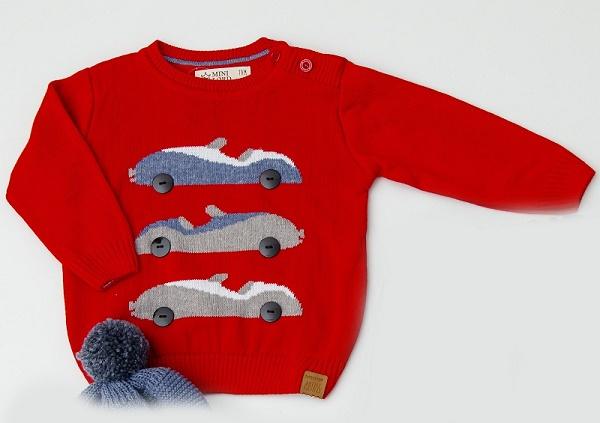 Sweater Tricot Infantil Bebê Menino Felipe