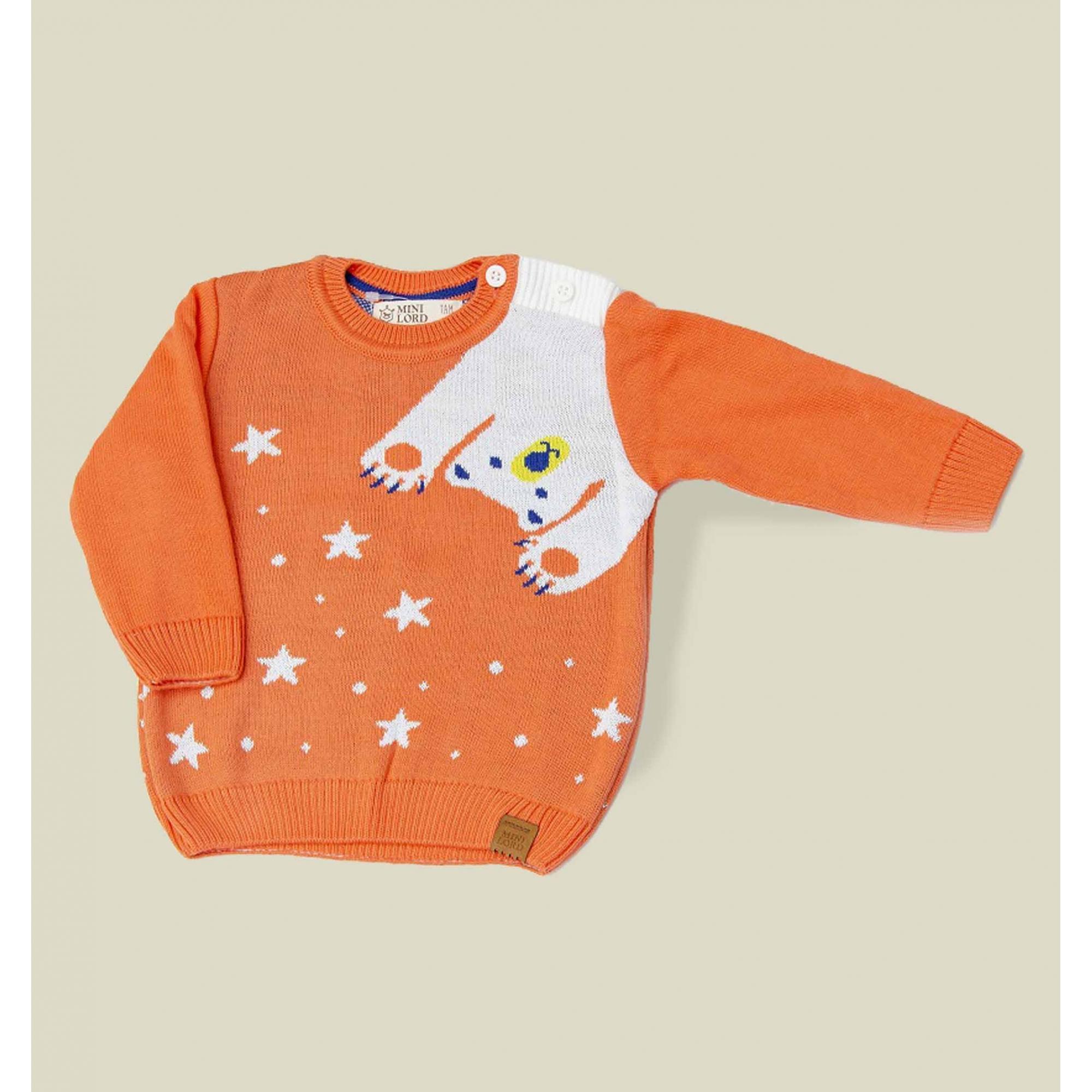 Sweater Tricot Infantil Bebê Menino Leandro