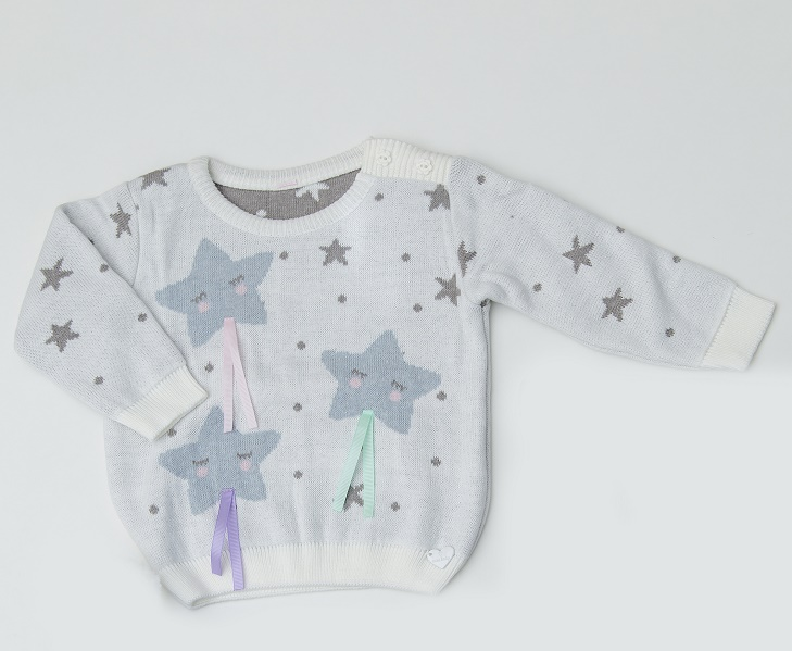 Sweater Tricot Infantil Bebê Menino Milena