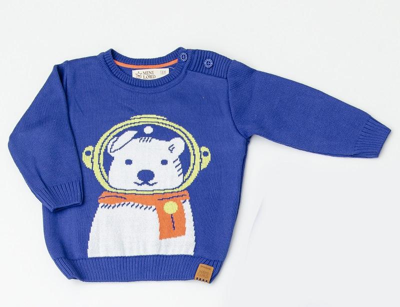 Sweater Tricot Infantil Bebê Menino Paulo