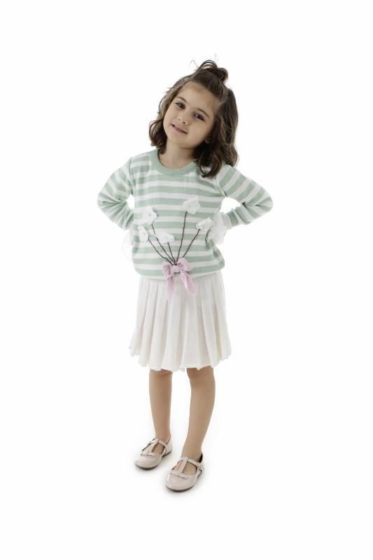 Sweater Tricot Infantil Menina Adriana