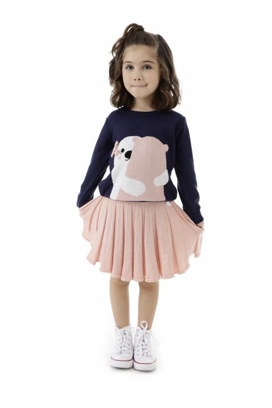 Sweater Tricot Infantil Menina Leticia
