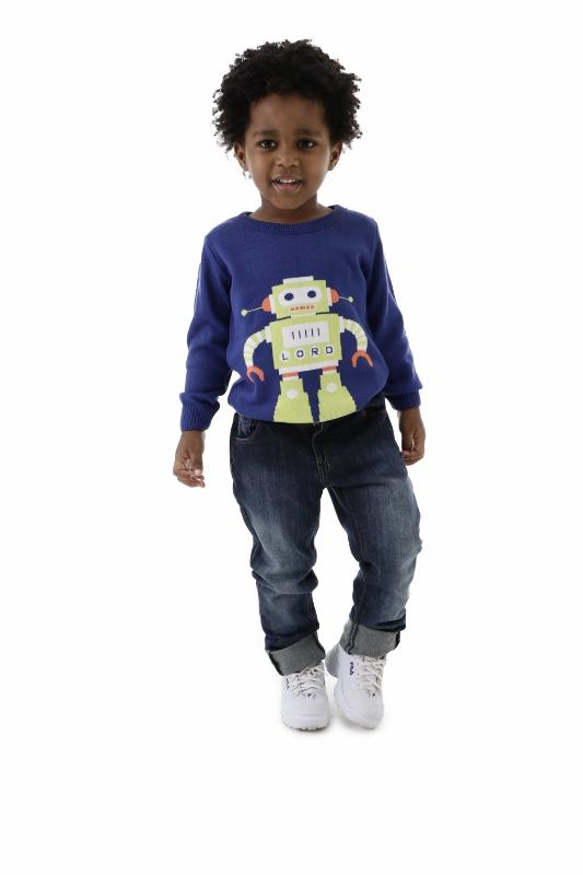 Sweater Tricot Infantil Menino Alan