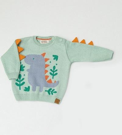 Sweater Tricot Infantil Bebê Menino Davi