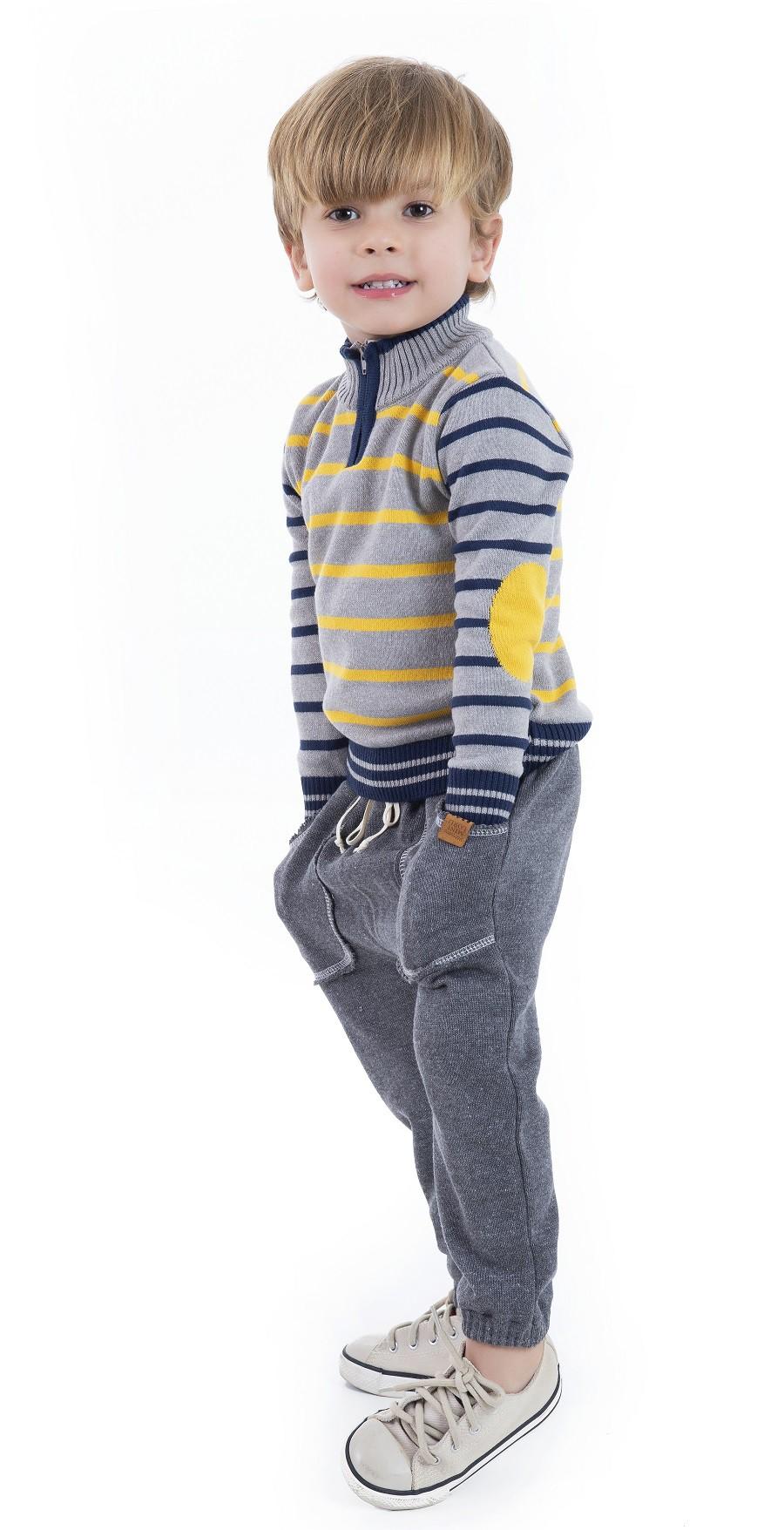 Sweater Tricot Infantil Menino Martin