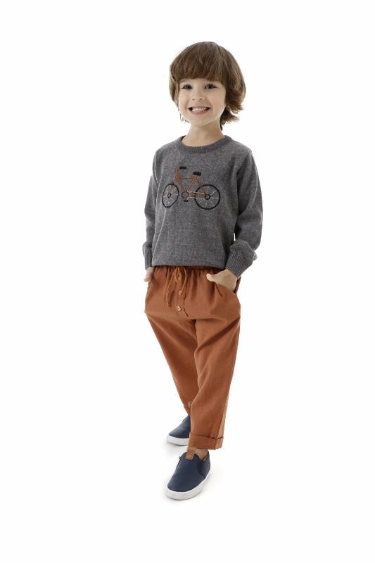 Sweater Tricot Infantil Menino Nick