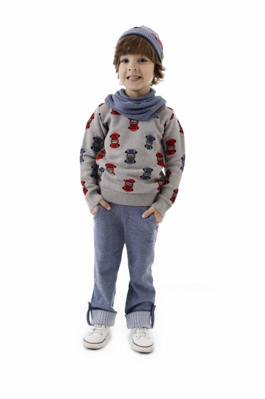 Sweater Tricot Infantil Menino Ravi