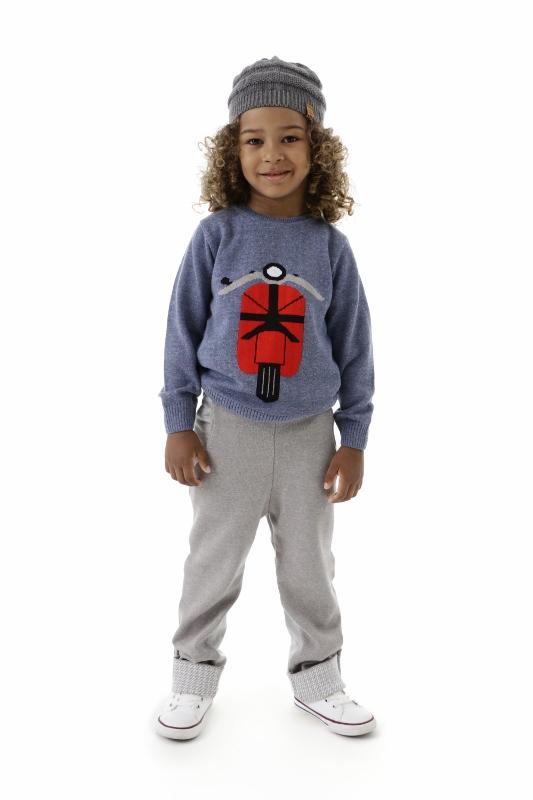 Sweater Tricot Infantil Menino Theo