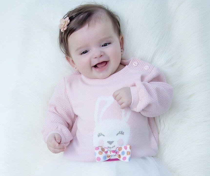 Sweater Tricot Infantil Sarah Baby