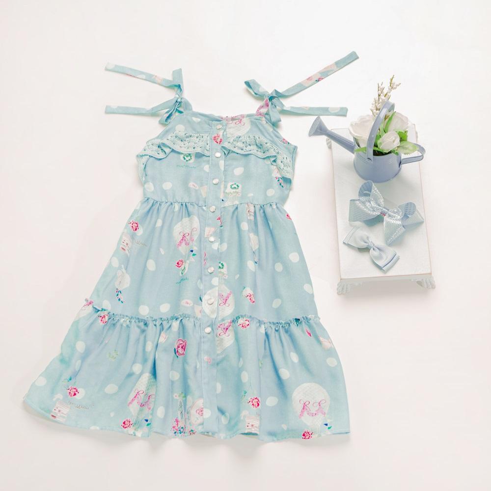 Vestido Infantil Menina Emília