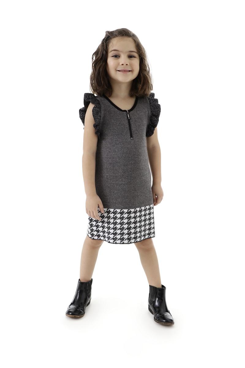 Vestido Tricot Infantil Menina Helen