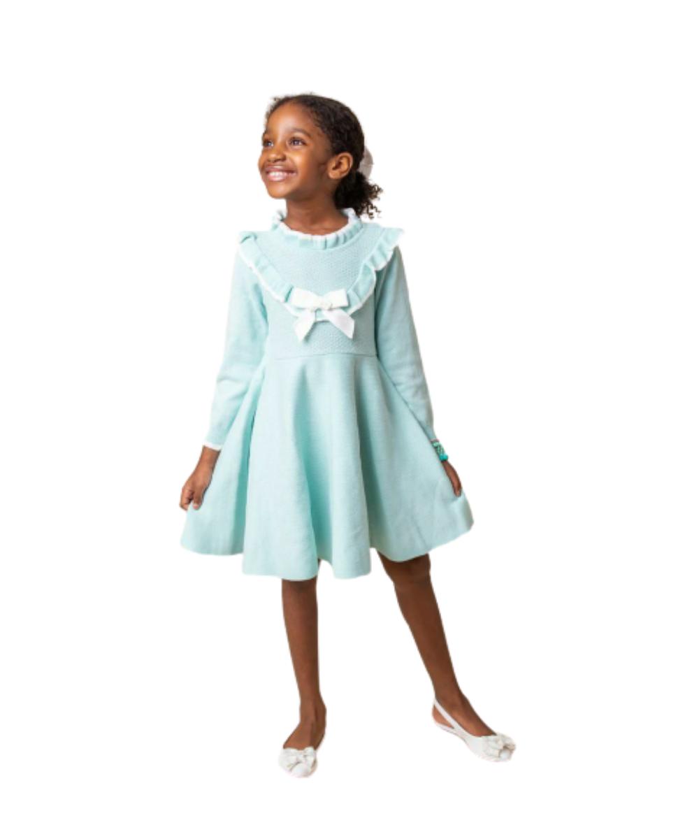 Vestido Tricot Infantil Menina Victoria