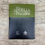 A Bíblia do Pregador - Grande - Verde e Preta - RA