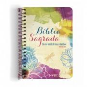 Bíblia Anote NVI espiral - Ela está vestida de força e dignidade