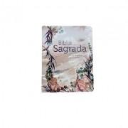 Biblia ARC Brochura - Flor Marmorizada - pequena