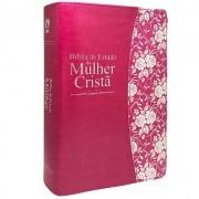 Bíblia de Estudo da Mulher Cristã GDE Pink