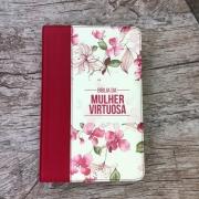 Bíblia De Estudo Da Mulher Virtuosa - Red