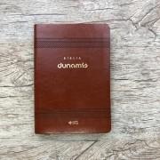 Biblia Dunamis - Clássica Marrom - NAA