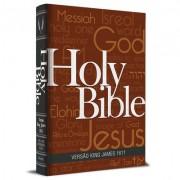 Bíblia King James 1611 Com Concordância (Capa Holy Bible) BKJ 1611 Com Concordância, Palavras de Jesus em Vermelho e Pilcrow
